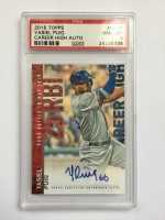 Yasiel Puig Los Angeles Dodgers Graded Autographed Card
