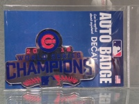 Chicago Cubs 2016 World Series Champions  Auto Emblem