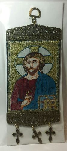 Christ hanging tapestry