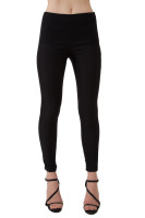 Skinny pant with side zip opening