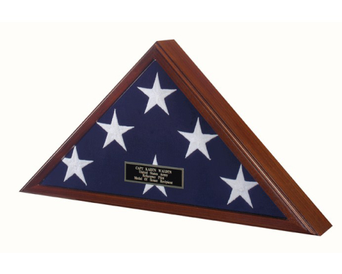 Buy Flag Display Case - Fit Large Flag Burial Flag 5ft X 9.5ft