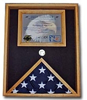 Military Certificate Case Military Flag Document Case