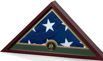 Military Frame Military Flag Display Case