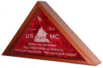 Marine Corps Gifts Marine Corps Flag Cases Marine Corp Gift