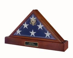 American Flag Display Case Burial Display Case For Flag