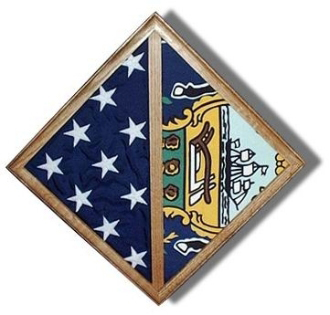 Flag - Wall Mounted Box - Fit Burial Flag Case