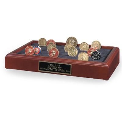 Challenge Coins Rack - 11 Row
