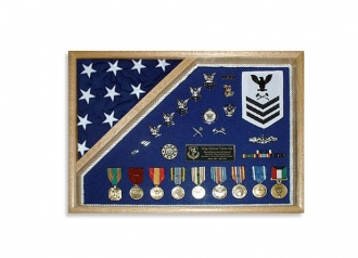 Military Shadow Box 18x24