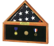 Flag Medal Display Case Combo