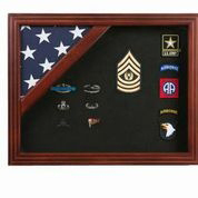The Patriot Flag Display Case