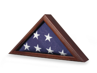 Capitol Flag Case - Great Wood Flag Case