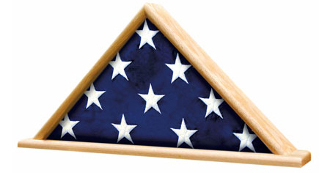 Memorial Flag Display Shadow Box-Veterans