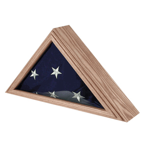 Air Force Flag Case For 3ft X 5ft Flag Oak