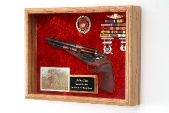 Gun Display Case, Gun Shadow Box, Decorative Frame for a Gun