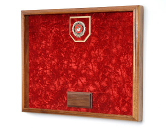 Military Medals And Awards Case 16inW x 12inH x 2inD