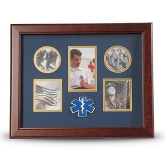 EMS Medallion Five Picture Collage Frame