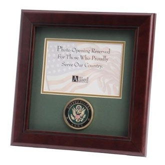 U.S. Army Medallion 4-Inch by 6-Inch Landscape Picture Frame