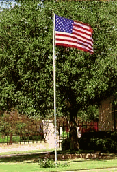 20ft Valley Forge Aluminum Flagpole