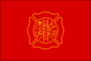 Firefighters 3ft x 5ft Nylon flag