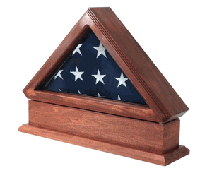 Military Flag Display Case - Made in USA