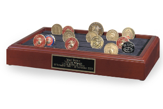 COIN DISPLAY STANDS - 11 Row