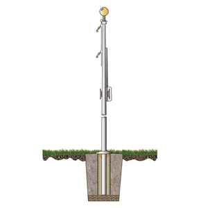 Special Budget Series 20 ft. Flagpole