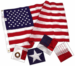 2ft x 3ft Nylon US Flag (Flags connections Brand)