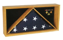 Rectangle Flag Medal Case Medal flag Frame