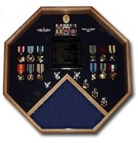 Retirement Medals Display Cases