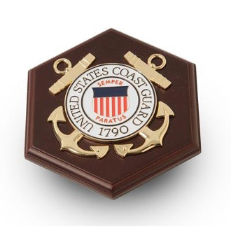 U.S. Coast Guard Medallion Paperweight