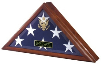 Flag  Display Case with Front Openning