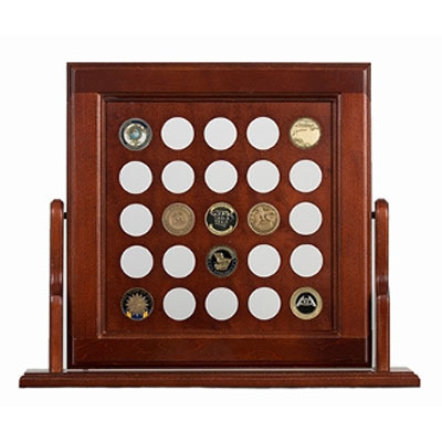 Flip Square Coin Holder