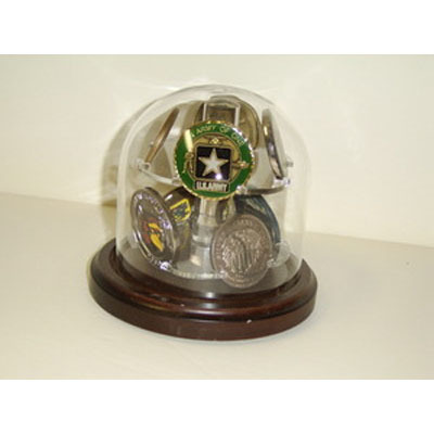 Glass Dome Coin Display