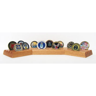 Coin Display Military, Desk Coin Holder, rack