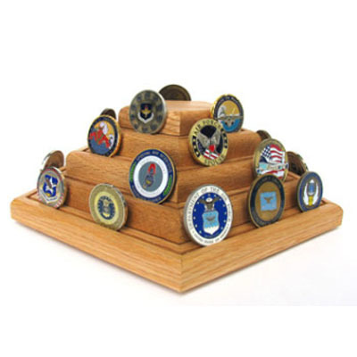Military Challenge Coin Display, Military Coin holder