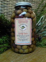 Raw Manzanilla Orange Spice Olives