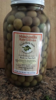 Half gallon of Raw Manzanilla Olives