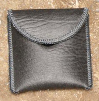Hearing Aid/Earmold Pouch - Gray