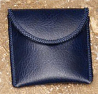 Hearing Aid/Earmold Pouch - Navy