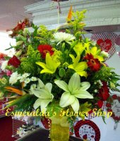 A Touch Of Yellow Bouquet ES5015