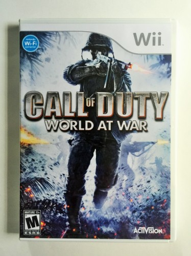 Call of Duty World at War Wii