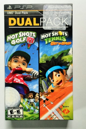 Duel Pack Hot Shots Golf And Tennis
