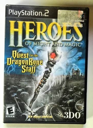 Heroes of Might and Magic Quest for the Dragon Bone Staff