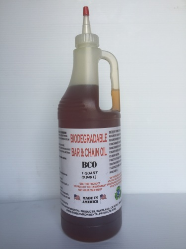 1 Quart Biodegradable Bar and Chain Oil