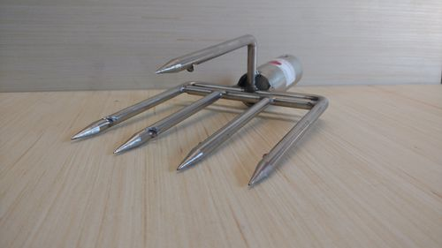 5 prong stainless steel gig head