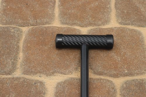 8 ft shallow water stick anchor-Black