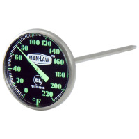 Instant Read Thermometer With Glow In The Dark Dial