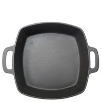 Deep Cast Iron Pan 10x10x2""