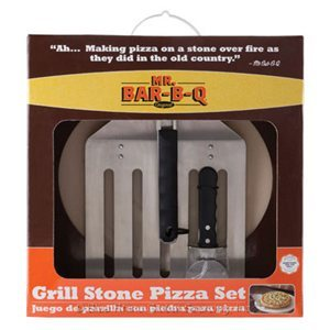 Grill Stone Pizza Set w/ Oversized Spatula