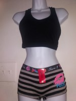Ladies Undees, Bra Top and Bottoms